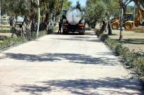 ZEYTINLI - Aliağa'da Yürüyüş Yollarına Dekoratif Baskı Uygulaması