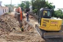 BEYOBASı - ASAT'tan Kanalizasyon Çalışması