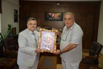 MEHMET ARSLAN - Başkan Yağcı'dan Ziyaret