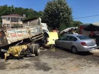 ÇAY BAHÇESİ - Beykoz'da Faciaya Ramak Kaldı