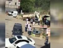 HAFRİYAT KAMYONU - Beykoz'da feci kaza!