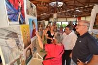 ÇıTAK - Foça'da Kursiyerlerin Resim Sergisi Heyecanı