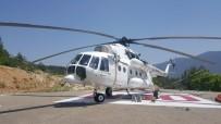 YANGIN HELİKOPTERİ - Karabük'te Yangın Helikopteri Konuşlandırıldı