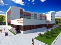 OKUL BİNASI - Namık Kemal İlkokulu Çelik Binadan Kurtuluyor