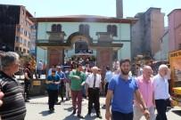 Rize'de Tarihi Orta Cami'de Son Cuma Burukluğu