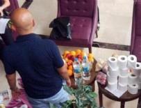 TUVALET KAĞIDI - Rus turistin valizinden çıkanlar şoke etti