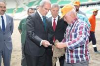 TİMSAH - Timsah Arena Yeni Çimlere Kavuşuyor
