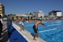 SPOR KOMPLEKSİ - Toroslar'ın Olimpik Yüzme Havuzu Yetişkinlere De Hizmet Verecek