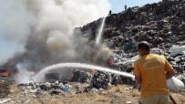 Turgutlu'da Çöplük Yangını
