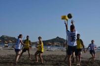 EĞİTİM DERNEĞİ - Türkiye Plaj Korfbol Şampiyonası Muğla'da Başladı