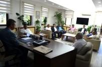 KAYSERİ ŞEKER FABRİKASI - Ziraat Odaları Başkanları Başkan Akay'ı Ziyaret Etti