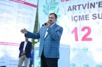 İSRAFİL KIŞLA - Bakan Eroğlu 12 Tesisin Açılışını Yaptı