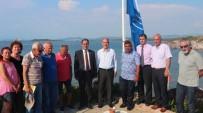 NAMIK KEMAL NAZLI - Balıkesir'de 2017 Yılına Ait İlk Mavi Bayrak Engürü Sitesi'ne Çekildi