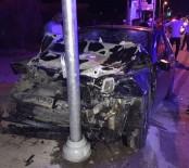 AHMET ATEŞ - Bodrum - Milas Karayolunda Kaza; 5 Yaralı