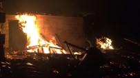 Çayeli'nde Yangın