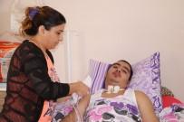 MOTOSİKLET KAZASI - Geçirdiği Kazayla Hayatı Karardı