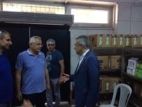 BAHÇEŞEHIR - Milletvekili Savaş, Sosyal Sorumluluk Aşevi'ni Ziyaret Etti