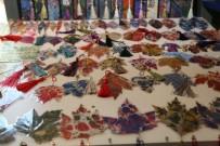 EBRU SANATı - Yapraklar Odunpazarı'nda Sanat Eserine Dönüşüyor