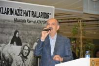 RUMELİ TÜRKLERİ - Bakan Müezzinoğlu'nun gözleri önünde kürsüye yığıldı