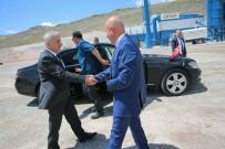 ERKILET - Başkan Çolakbayrakdar, Vali Kamçı Ve Başkan Çelik'e Asfalt Plentini Tanıttı