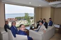 18 MART ÜNIVERSITESI - Çanakkale Valisi Tavlı, Genel Sekreter Köklü'yü Ziyaret Etti