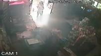 KAÇıŞ - Cinayetle sonuçlanan soygun kamerada