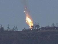ÖZGÜR SURİYE - Esed'in uçağını Şam'da düşürdüler
