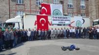 KAYSERİ ŞEKER FABRİKASI - Fırat Kalkanı Bölgesine Kayseri Şeker'den 100 Ton Şeker