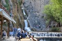 ŞELALE - Günpınar Şelalesine Ziyaretçi Akını Başladı