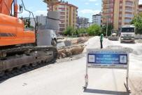 KARAKÖPRÜ - Karaköprü İlçesinde Drenaj Hat Döşeme Çalışmaları Devam Ediyor