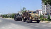 ZIRHLI ARAÇLAR - Kilis'te Zırhlı Araç Yoğunluğu