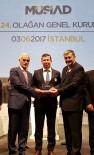 MÜSTAKİL SANAYİCİ VE İŞ ADAMLARI DERNEĞİ - MÜSİAD İzmir'e Teşekkür Plaketi