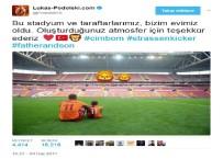 LUKAS PODOLSKI - Podolski, Türk Telekom Stadyumu'na Veda Etti