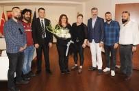 SIYAH BEYAZ - Şampiyon Beşiktaşlılardan Başkan Çerçioğlu'na Teşekkür