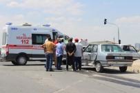 KONUKLU - Şanlıurfa'da Trafik Kazası Açıklaması 2 Yaralı