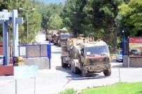 KOBANİ - Şanlıurfa'ya Askeri Araç Ve Mühimmat Sevkıyatı