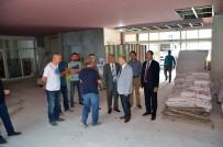 MEHMET CEYLAN - Tekirdağ Valisi, Süleymanpaşa'da Yatırımları İnceledi