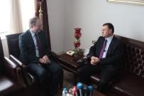 LÜTFÜ SAVAŞ - AB Türkiye Delegasyonu Başkanı Berger'den Başkan Savaş'a Ziyaret