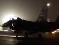 HAVA SALDIRISI - ABD Suriye'de rejim yanlısı güçleri yine vurdu