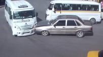 DİKKATSİZLİK - Afyonkarahisar'daki Trafik Kazaları MOBESE'de