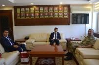 OTORITE - ASP İl Müdürü İlbaş, Jandarma Bölge Komutanı Alpar İle Bir Araya Geldi