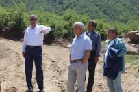 GÖKHAN KARAÇOBAN - Başkan Karaçoban'dan Aşırı Yağışların Vurduğu Mahalleye Ziyaret
