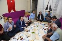 MEHMET TAHMAZOĞLU - Başkan Mehmet Tahmazoğlu, İftarını Şehit Evinde Açtı