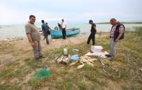 ELEKTRİK AKIMI - Beyşehir Gölü'nde Elektroşoklu Avcılar Dronlu Takiple Suçüstü Yakalandı