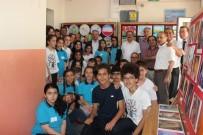 Burhaniye'de Kaymakam Öner Öğrenci Sergisini Ziyaret Etti