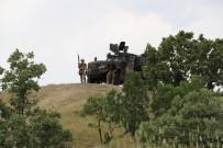 UÇAKSAVAR - Diyarbakır'ın Lice İlçesinde Operasyonlar Devam Ediyor