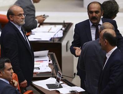 Ertuğrul Kürkçü Meclis'te olay çıkardı