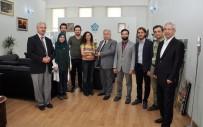 KARAHASAN - Geleneksel Türk Okçuluğu Federasyonu Başkanı Koç'tan Rektör Şeker'e Ziyaret