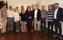 ÖZLEM ÇERÇIOĞLU - Germencik CHP İlçe Yönetiminden Başkan Çerçioğlu'na Ziyaret