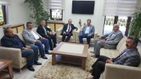 MUSTAFA DEMIR - İş Bankası Genel Müdüründen Başkan Hüseyin Akay'a Tebrik Ziyareti